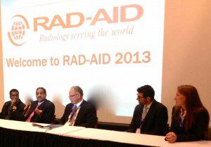 RAD-AID Conference Panel discussing Cape Verde, Haiti, Ghana, Tanzania, and Teleradiology projects