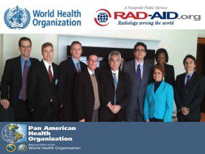 WHO PAHO RAD-AID Photo