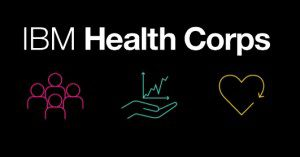 health corps logo with icons