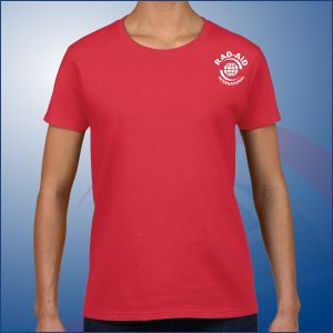 Red RAD-AID Women's Shirt
