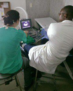 Ultrasound collaboration, Haiti 2014
